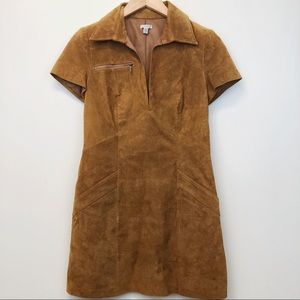 Urban Outfitters Ecote 100% Leather Dress Size 4
